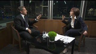 """Nicolas Sarkozy à Ruth Elkrief: """"Vous me voyez comme un drogué, une espèce de frénétique!"""""""