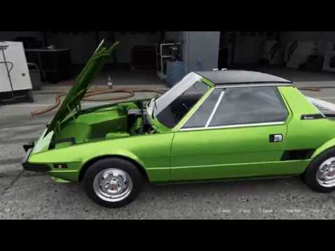 forza motorsport 7 1975 fiat x1 9 car show speed crash. Black Bedroom Furniture Sets. Home Design Ideas