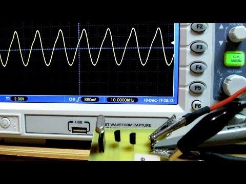 Кварцевый генератор по схеме Колпитца / Colpitts Crystal Oscillator