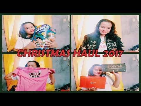 CHRISTMAS HAUL 2017 | Hannah Peña