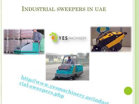 Industrial sweepers in uae yesmachinery.ae