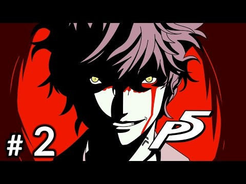 Persona 5 Gameplay Part 1 Let Us Start The Game Youtube