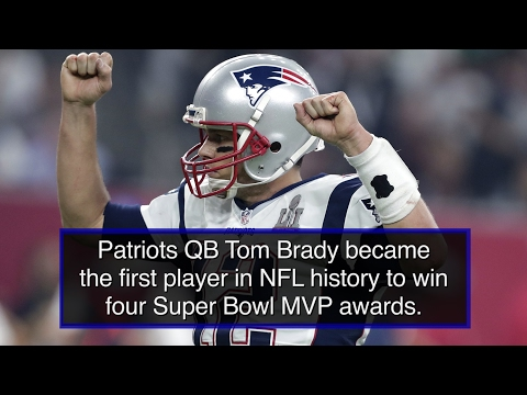 Tom Brady is the first player in NFL History to become a 4-time Super Bowl MVP