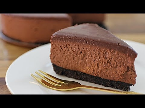 No bake chocolate cheesecake recipe with cocoa powder