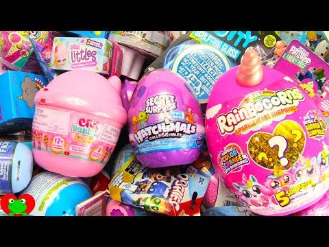 Unboxing Royal Hatchimals, Rainbowcorns, Real Littles Shopkins Surprises