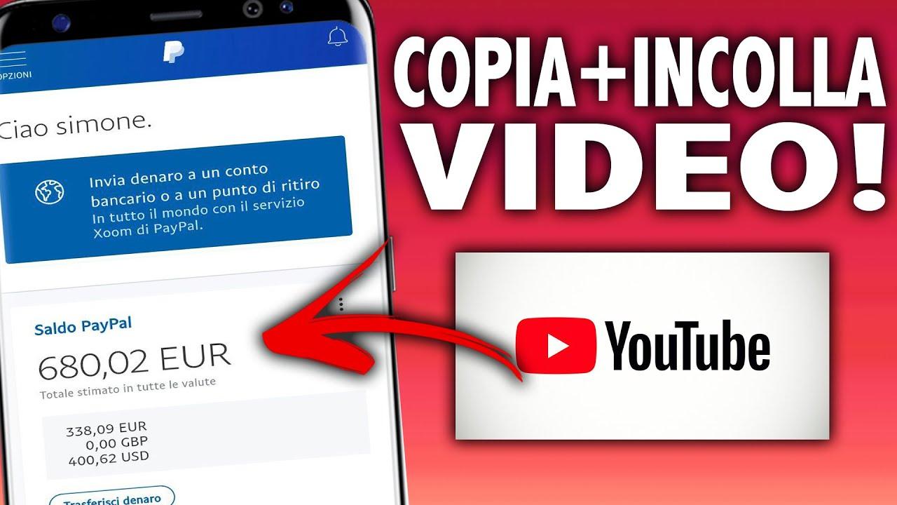 guadagnare con video youtube