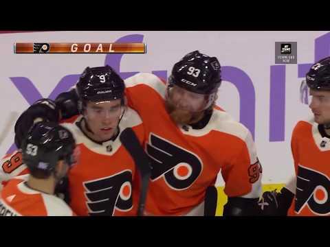 Jakub Voracek Goal - Philadelphia Flyers vs Ottawa Senators (11/27/18)