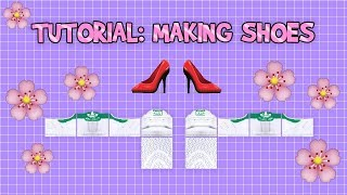 Roblox Clothing Tutorial: Making Shoes