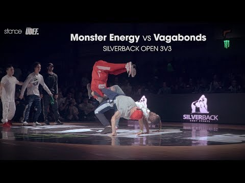 Monster Energy vs Vagabonds ► .stance x Silverback Open 2017 ◄