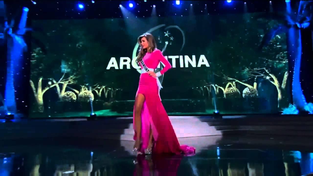 Valentina Ferrer: Valentina Ferrer Miss Universe Preliminary Competition
