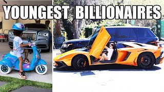 TOP 10 Youngest Self-made BillionaIres by Forbes 2021