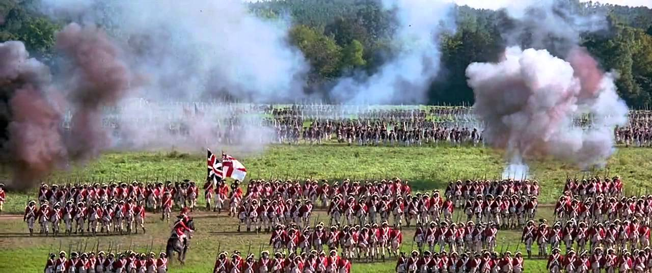 Image result for The Patriot movie battle