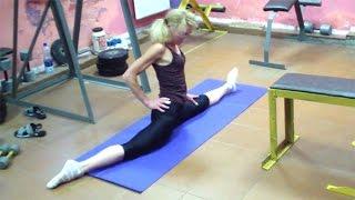 видео Надрыв мышцы бедра. Упражнение для восстановления и укрепления.