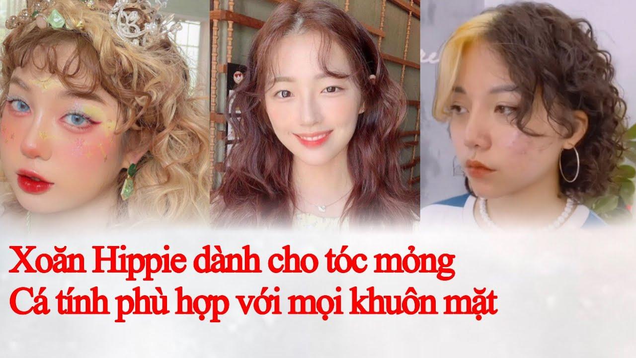 Tóc Đẹp : kiểu tóc Xoăn Xù Mì- Xoăn Hippie Hàn Quốc xinh muốn xỉu   Tổng quát các tài liệu nói về toc dep xoan chính xác