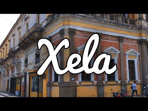 Xela, la Ciudad de Quetzaltenango en Guatemala