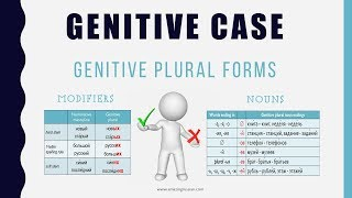 Beginning Russian: Genitive Case-5. Genitive Plural Forms