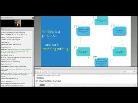 AE Webinar 4.3 - From Idea to Essay: Effective Strategies for Teaching Academic Writing