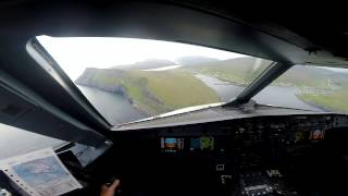 """A 4K """"Why I Fly"""" - Manual Airbus flight - Stunning Scenery - Localizer Approach"""