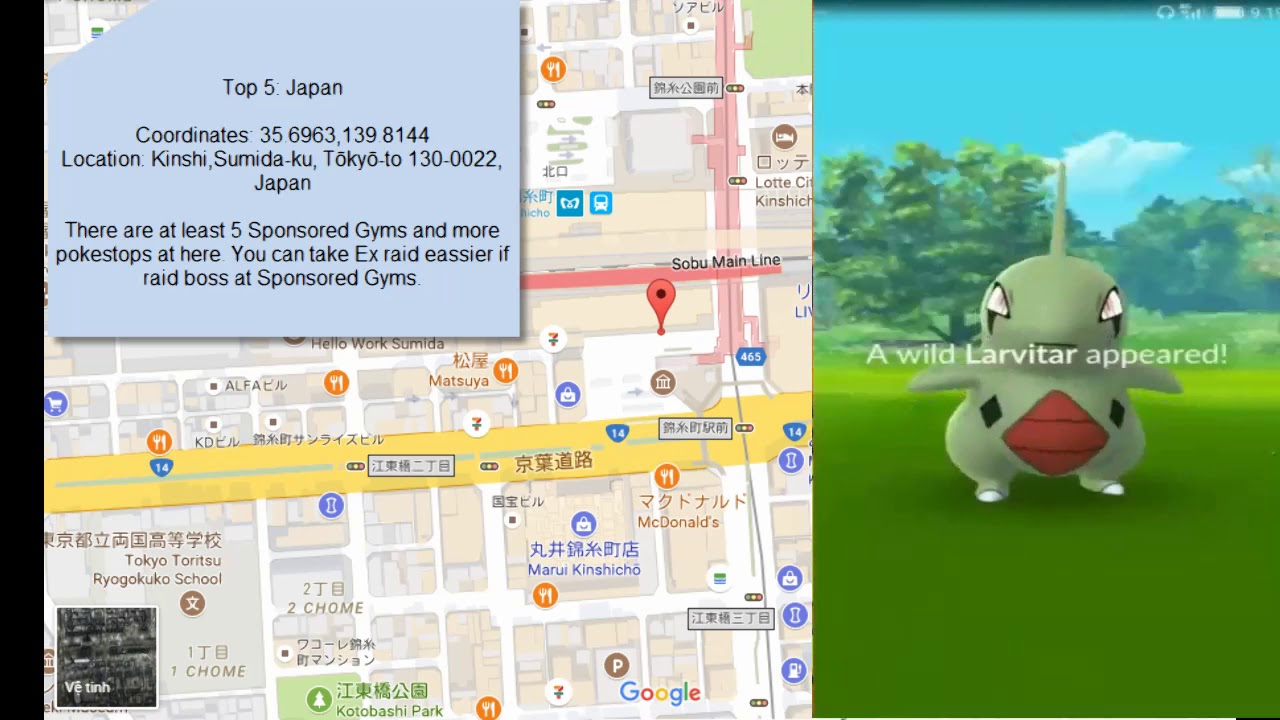places to teleport in pokemon go