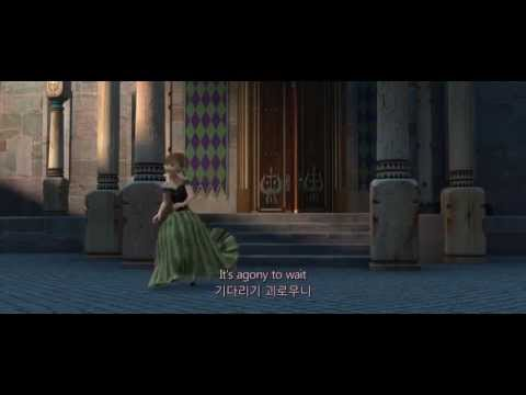 [FHD] 2. Frozen(겨울왕국) - For The First Time In Forever (영어+한글자막)