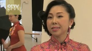 Chinese classic Qipao-style dress gains international attention
