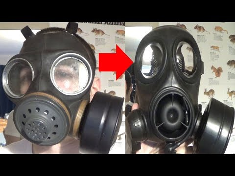 The best Gas Masks for each decade 1940s-2000s