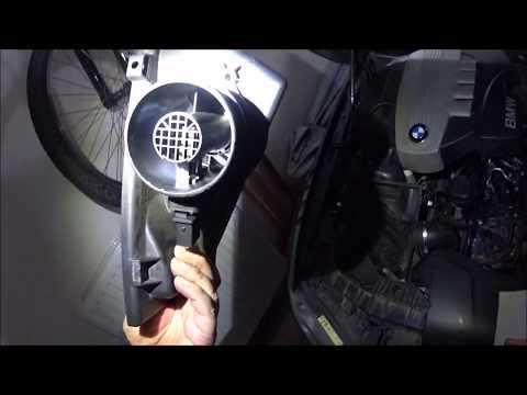 map maf sensor cleaning bmw 1 120D 130kw e87 lci n47 - YouTube