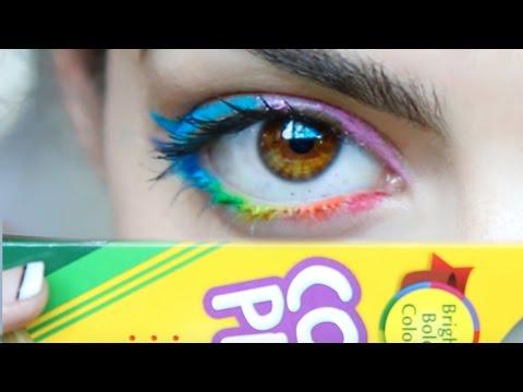 DIY: Make Eyeliner Out of Colored Pencils!