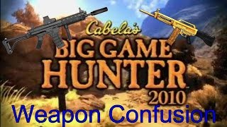 Big Game Hunter 2010: Weapon Confusion