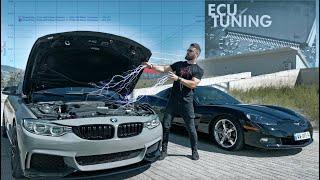 BMW კოპარტიდან #6 - ბოლო სერია! გაჩიპვა და ცხენების მომატება! დრაგი ავტობანზე...