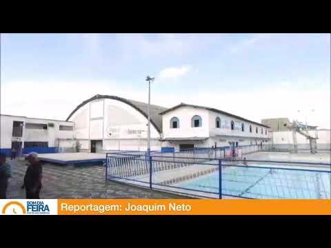 Prefeito visita antigas instalações do Feira Tênis Clube