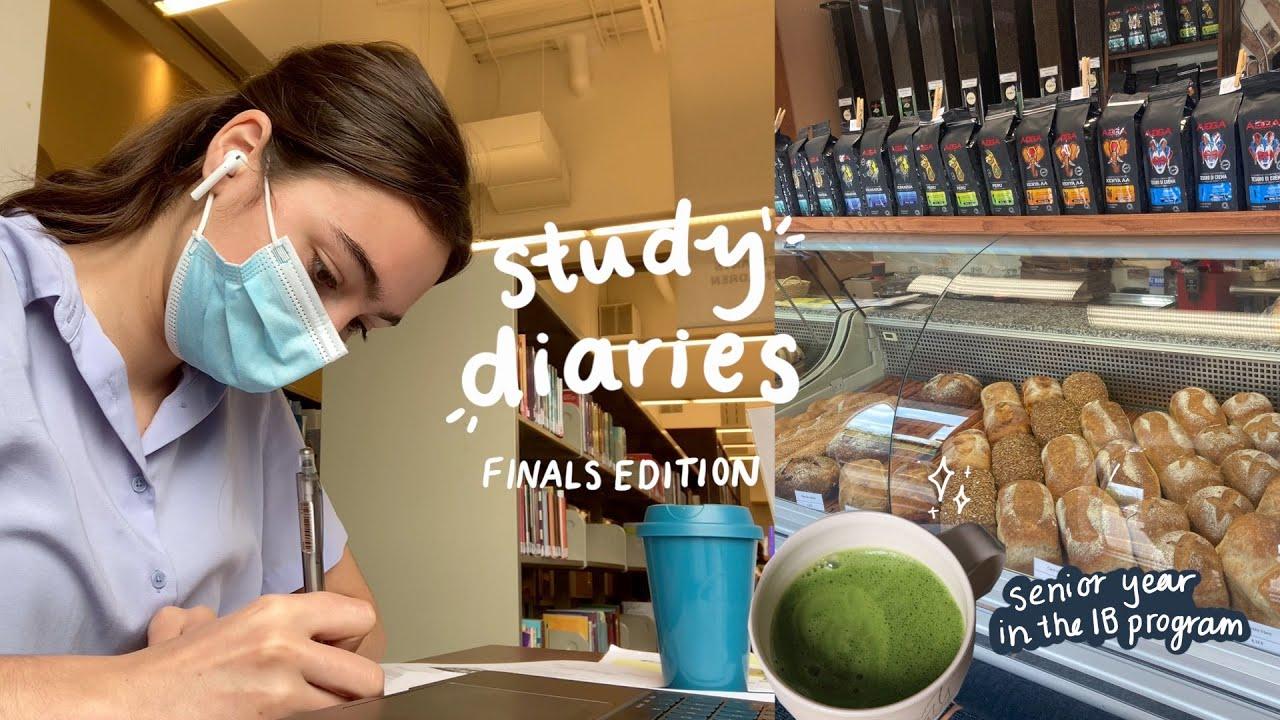 Download study diaries   preparing for finals as an IB senior student