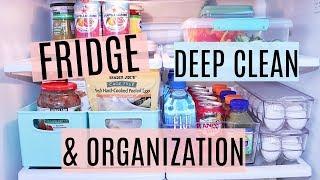 Fridge Deep Clean & Organization- DIY organizing: Homegoods, Walmart, Costco