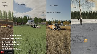 FS19 Tervalehti Multifruit Map update version 1.0.2.1
