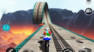 IMPOSSIBLE MOTOR BIKE TRACKS 3D #Dirt Motor Cycle Racer Game #Bike Games To Play #Games For IOS #1