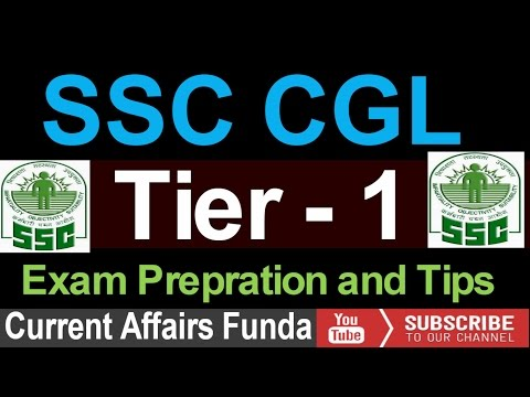 SSC CGL Tier1 - How to prepare ( 2016 | Detailed syllabus ,pattern and tips )