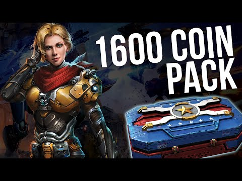 War Robots - Special Delivery Opening (1600 Coin Pack) + High Level Gameplay