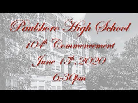2020 Paulsboro High School Virtual Graduation