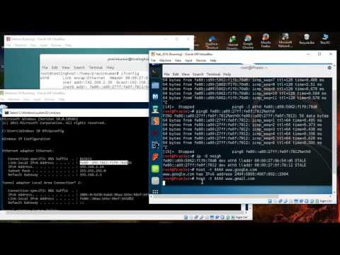 How to use ping and tracert/traceroute command for IPv6 for Linux and windows