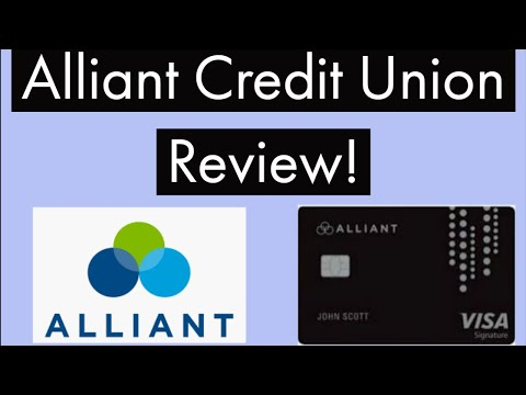 Alliant Credit Union Review - 2.5% Cash Back Visa - 0% For 12 Months - Easy Membership - High Limits