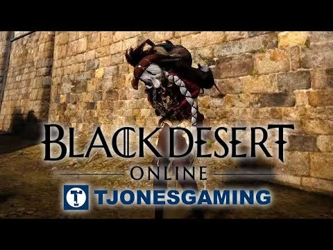 Black Desert Online (BDO) - How to Increase Strength (AFK Strength Training  with Pack)