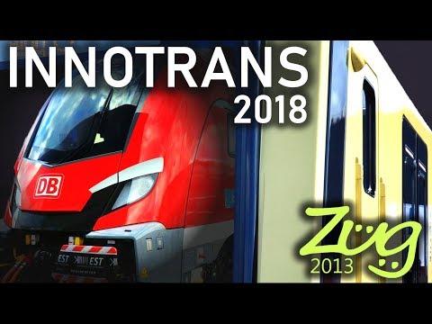 TOP10 Neue deutsche ZÜGE | Innotrans 2018 mit Skoda Dosto NIM, BR484, RRX, Talent 3 u.s.w.