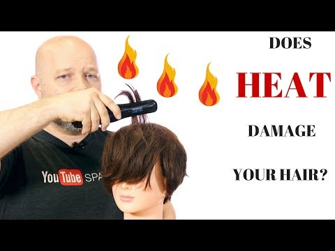 DOES HEAT DAMAGE YOUR HAIR? - How to Protect Against Heat -