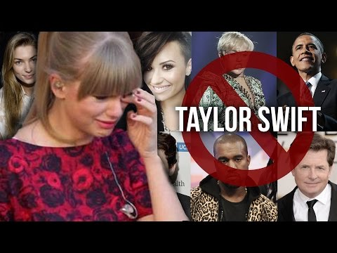 11 Celebs Who've DISSED Taylor Swift