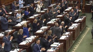 PCs warned about use of standing ovations in legislature