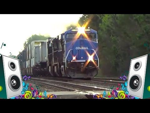 Train Song for Kids - Train Videos for Children