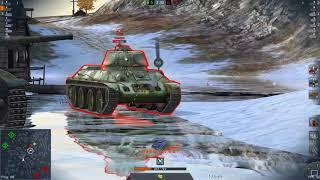 World Of Tanks Blitz Game Play (Pz. VI Anko SP) v4.1.0