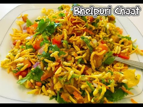Bhel Puri Recipe / How to make Bhel Puri Chat Recipe - Tasty Appetite