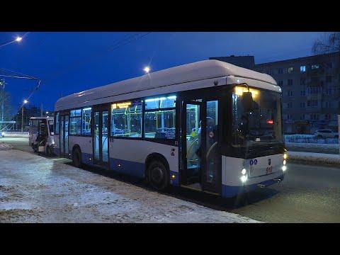 Сегодня троллейбус Чебоксары-Новочебоксарск №100 начал свою работу