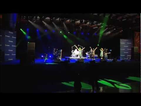 Les Horribles Cernettes live at the LHC Inauguration